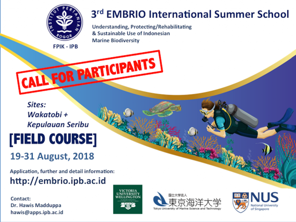 EMBRIO FIELD COURSE 2018